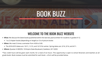 Book Buzz with Britt Buckenroth - Fall 2019