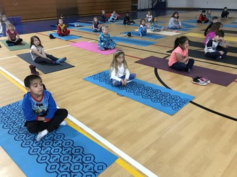 Yoga and PJ Day