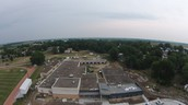 A Drone's Eye View of the building
