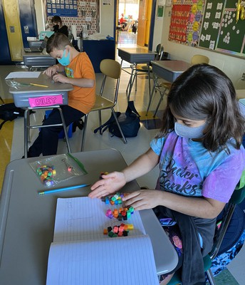 Making connections in 4th grade math