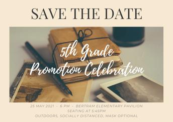 5th Grade Promotion!