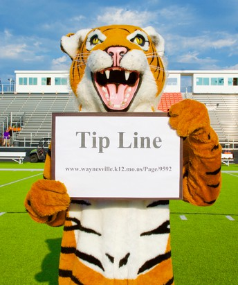 Tiger Tip Line - Tell the Tiger!