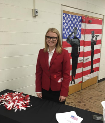FCCLA Helping Welcome Veterans and Guests