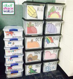Get your curriculum supplies organized!