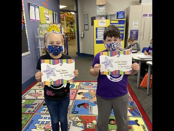 Grade 2- Barton Students of the Month