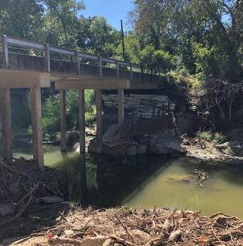 Barnes Bridge Road at Duck Creek