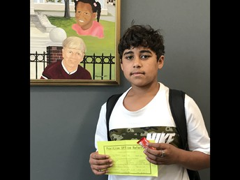 Elijah earned a positive referral for avoiding a conflict.