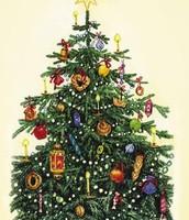 Как украшают елку