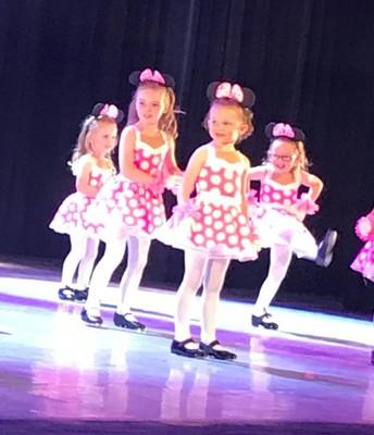 The littles at recital