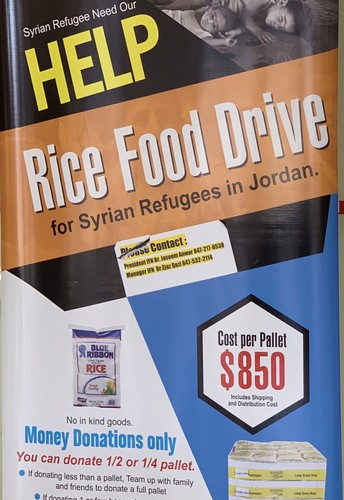 Syrian Refugee Food Drive