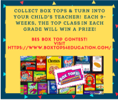 Box Top Contest Is Here!