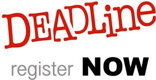 Registration Deadline