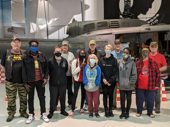 South History Club Visits Air Museum