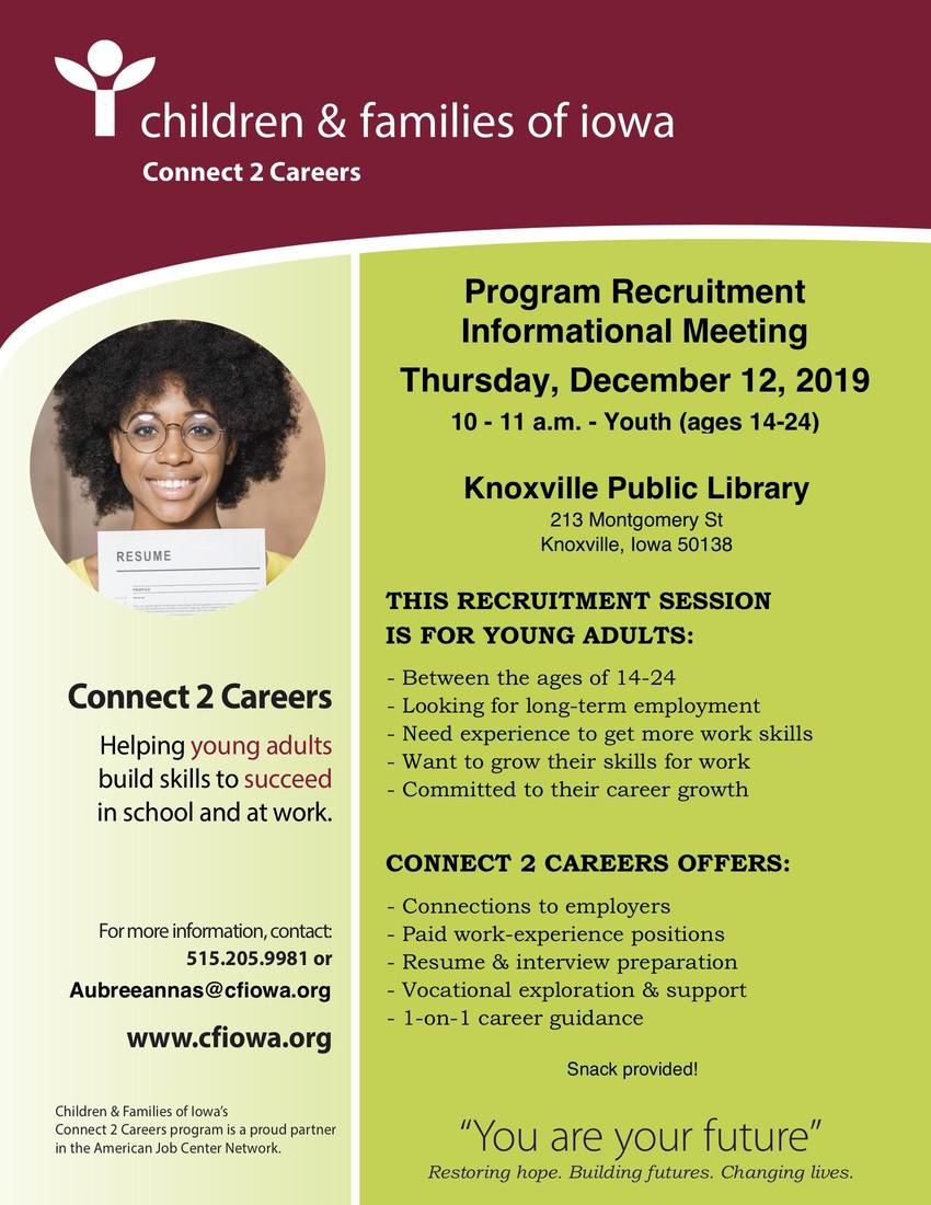 Connect 2 Careers Recruitment Fair
