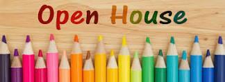 Gr. 1 & 2  Open House: