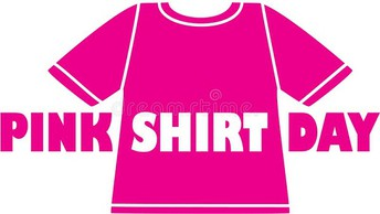 Stand up to bullying Pink Shirt Day
