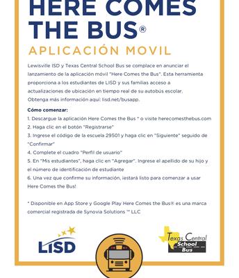 New Bus App - Spanish