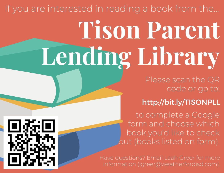 TMS Parent Lending Library Google Form