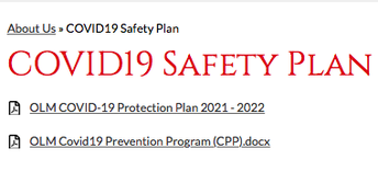 OLM COVID-19 Protection Plan