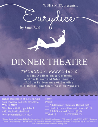 WBHS MIFA presents Eurydice