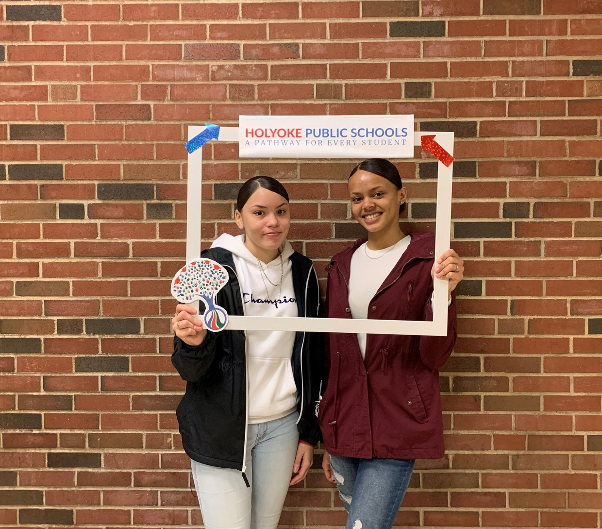 Work Based Learning - Angelique Sanchez and Ashanti Santana are Interns at Homework House