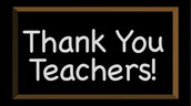 Thank you, Coweta Teachers!