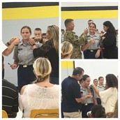 JROTC Commissioning Ceremony