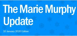 The Marie Murphy Update Newsletter