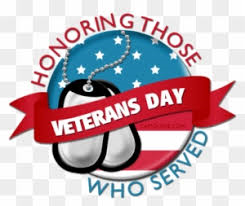 All Welcome to 4th Grade Program to Honor Veterans on November 8th!
