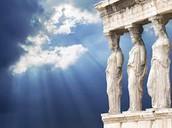 Athens - Parthenon, Karyatides