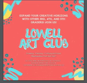Lowell's Art Club