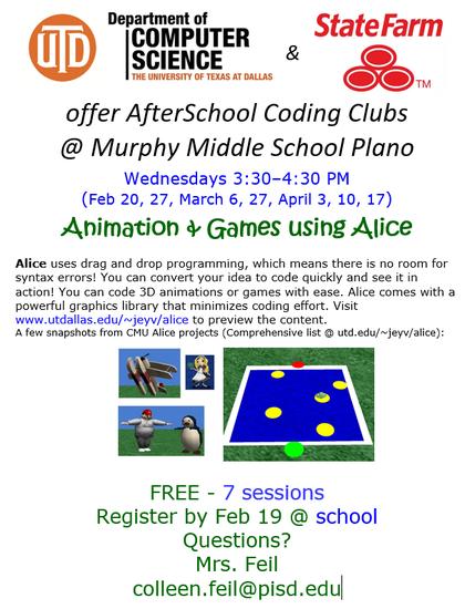 Murphy Middle School PTA - Plano ISD, TX - AfterSchool