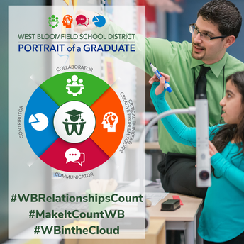 #WBRelationshipsCount - #MakeItCountWB - #WBintheCloud - #ReadwithWBSD