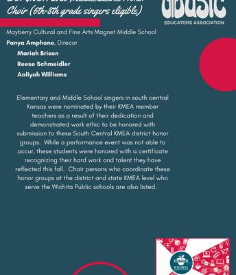 SCKMEA 6th-8th Grade