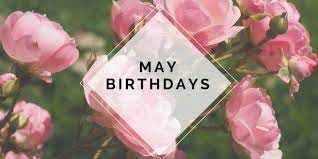 May Birthday Lunch & Bookstore - 5/20
