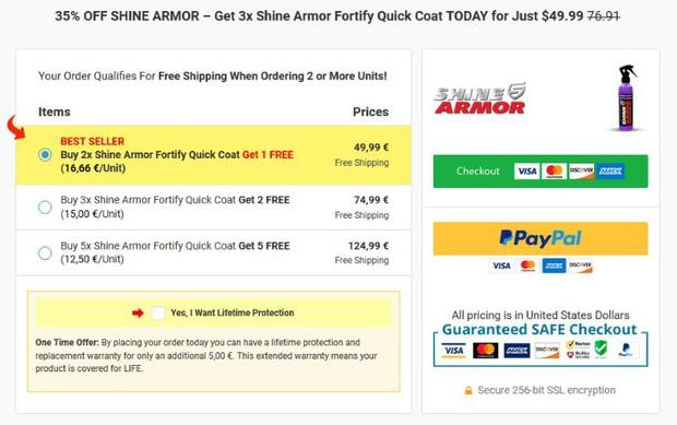 Shine Armor Reviews, Price, Facts