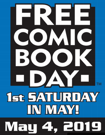 Free Comic Book  Day at the Bloomingdale Library