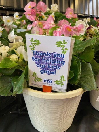 Thank you PTA and Home Depot