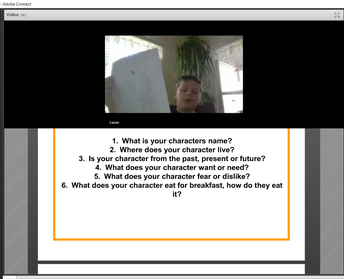 Character Creation Virtual Field Trip