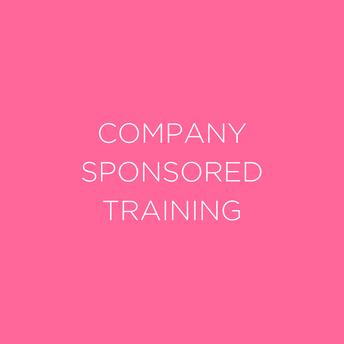 Company Sponsored Training Groups