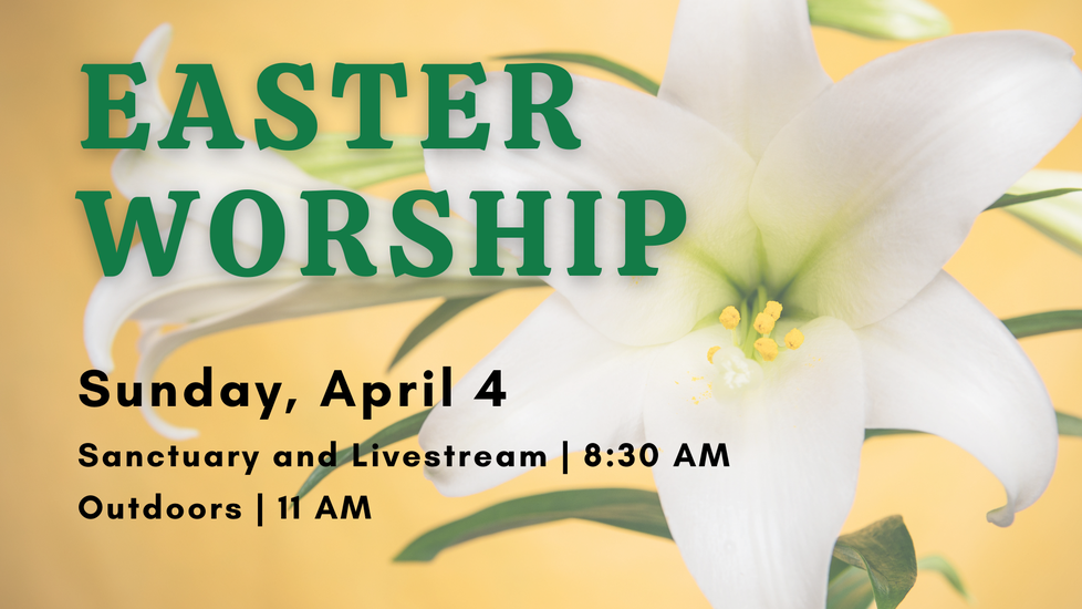 Easter Worship on April 4
