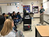 South West Collegiate Institute for the Deaf from Big Spring,TX visited WHS on January 4th.