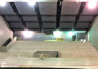 Jefferson HS Auditorium/Looking out from the stage