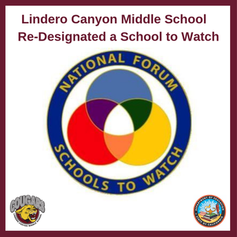 Congratulations to LCMS!