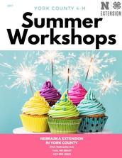 Summer Workshops Released!