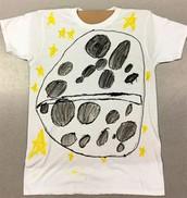 Space PBL t-shirt design - 2nd Grade