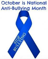 On Fridays, WE WEAR BLUE to encourage kindness and put an end to bullying!