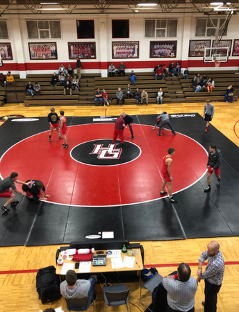 HGHS Wrestling Program Makes History