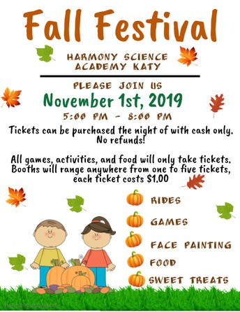 Fall Festival Donations
