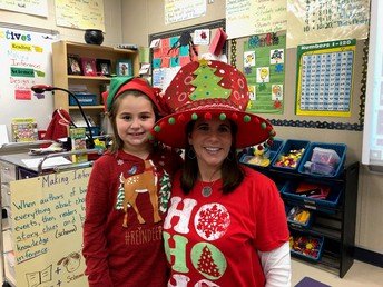 Holiday Hat Day was so much fun!